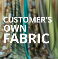 COM Customer Owned Fabric Cushion Covers