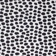 Sunbrella Thibaut Sarah Spot Black W80344 Calypso Collection Upholstery Fabric