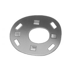 DOT Lift-The-DOT Back Plate 90-BS-16506-1A Nickel Plated Brass 100 per pack
