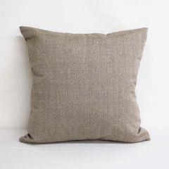 Indoor/Outdoor Sunbrella Linen Stone - 24x24 Throw Pillow (quick ship)