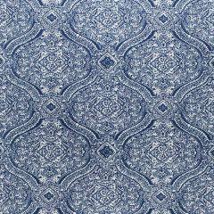Sunbrella Thibaut Tulsi Paisley Navy W80311 Calypso Collection Upholstery Fabric