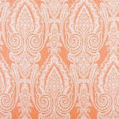 Scalamandre Sunbrella Harwich Port Kumquat 3 Elements IV Collection Upholstery Fabric