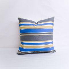 Indoor/Outdoor Robert Allen Sunbrella Boca Linda Blue Tide - 20x20 Throw Pillow (quick ship)