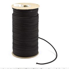 Nylon Elastic Cord #16448 1/8 inches x 300 feet Black
