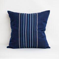 Indoor/Outdoor Sunbrella Viento Nautical - 22x22 Throw Pillow (quick ship)