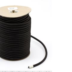 Polypropylene Covered Elastic Cord #M-5 5/16 inches x 150 feet Black