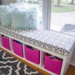 Custom Window Seat Cushions