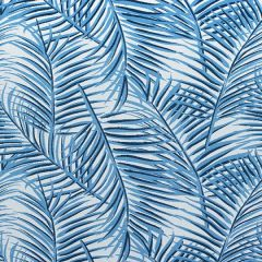 Sunbrella Thibaut West Palm Woven Blue on White W80562 Oasis Collection Upholstery Fabric