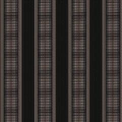 Fabricut Sunbrella Sunset Stripe Black Rock 6671507 Sand Dune Collection by Kendall Wilkinson Upholstery Fabric