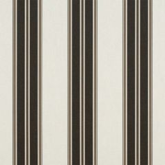 Sunbrella Black / Taupe Fancy 4946-0000 46-Inch Awning / Marine Fabric
