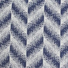 Sunbrella Chevi Bluejay SUF2700-02 Watercolor Collection Upholstery Fabric
