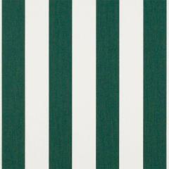 Sunbrella Beaufort Forest Green/Natural 6 Bar 4806-0000 Awning / Marine Fabric