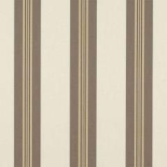 Sunbrella Taupe Tailored Bar Stripe 4945-0000 46-Inch Awning / Marine Fabric