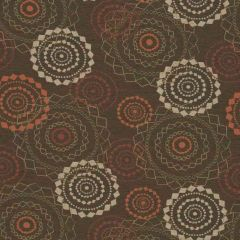 Sunbrella by Mayer Mandala Bronze 418-000 Imagine Collection Upholstery Fabric