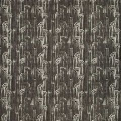 Groundworks Sunbrella Crescent Weave Soot GWF-3737-18 by Kelly Wearstler Upholstery Fabric