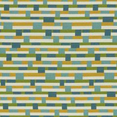 Sunbrella by Mayer Metal Strips Springtime 434-003 Vollis Simpson Collection Upholstery Fabric