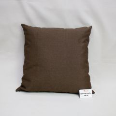 Indoor/Outdoor Sunbrella Spectrum Coffee - 18x18 Throw Pillow (quick ship)