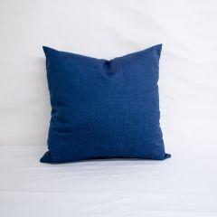 Indoor/Outdoor Sunbrella Spectrum Indigo - 20x20 Throw Pillow (quick ship)