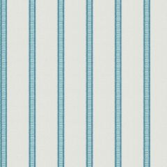 Fabricut Sunbrella Pier Stripe Surf 6672204 Ocean Collection by Kendall Wilkinson Upholstery Fabric