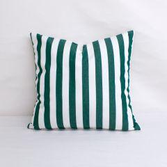 Indoor/Outdoor Sunbrella Mason Forest Green - 18x18 Throw Pillow (quick ship)
