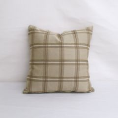 Indoor/Outdoor Sunbrella Holmes Latte - 18x18 Throw Pillow (quick ship)
