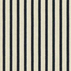 Kravet Sunbrella Bollard Stripe Black Ink 33541-50 Waterworks II Collection Upholstery Fabric