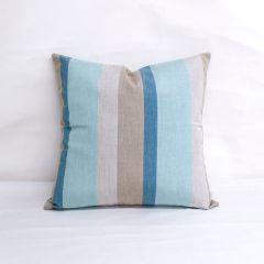 Indoor/Outdoor Sunbrella Gateway Mist - 18x18 Throw Pillow (quick ship)