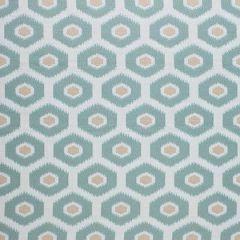 Sunbrella Thibaut Geode Ikat Aqua W80373 Calypso Collection Upholstery Fabric