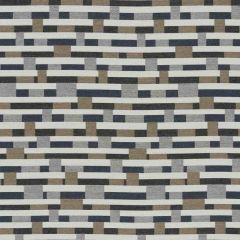 Sunbrella by Mayer Metal Strips Granite 434-006 Vollis Simpson Collection Upholstery Fabric