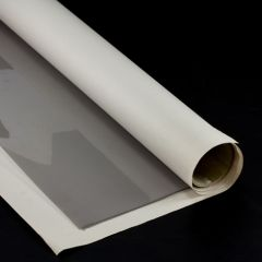 By the Sheet (3 sheets) Crystal Clear 20/20 Clear Vinyl 40 gauge x 54 inches x 110 inches Light Smoke