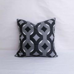 Indoor/Outdoor Sunbrella Virgo Raven - 20x20 Throw Pillow (quick ship)