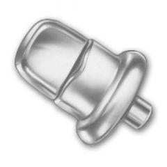 DOT Common Sense Turn Button 91-XB-78317-1A Nickel Plated Brass 100 pack