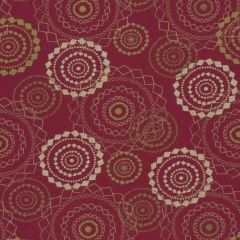 Sunbrella by Mayer Mandala Crimson 418-001 Imagine Collection Upholstery Fabric