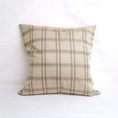 Indoor/Outdoor Sunbrella Holmes Latte - 24x24 Throw Pillow (quick ship)