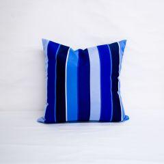 Indoor/Outdoor Sunbrella Milano Cobalt - 20x20 Throw Pillow (quick ship)