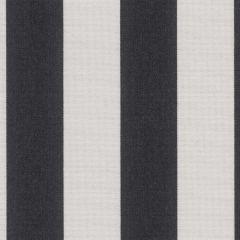 Sunbrella Yacht Stripe Black SJA 3740 137 Marine Decorative Collection Upholstery Fabric