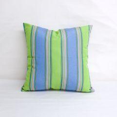 Indoor/Outdoor Sunbrella Bravada Limelite - 18x18 Throw Pillow (quick ship)