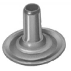 DOT Durables Post 93-BS-10413-1A 5/16 inches Nickel Plated Brass 100 pack