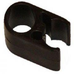 Rigid Support Clip #21463 Nylon 7/8 inch Black