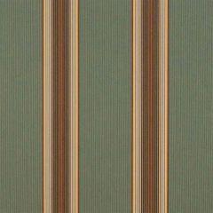 Sunbrella Forest Vintage Bar Stripe 4949-0000 46-Inch Awning / Marine Fabric