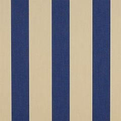 Sunbrella Canvas Block Stripe Mediterranean 4921-0000 46-Inch Awning / Marine Fabric