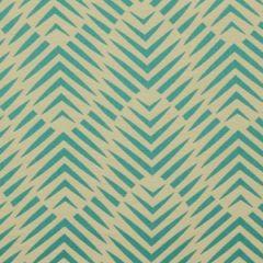 Robert Allen Sunbrella Palmwood Turquoise 228290 DwellStudio Modern Bungalow Collection Upholstery Fabric