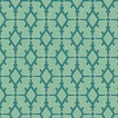 Groundworks Sunbrella Tigger Teal GWF-3329-53 by Ashley Hicks Upholstery Fabric