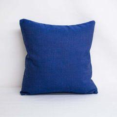 Indoor/Outdoor Sunbrella Echo Midnight - 18x18 Throw Pillow (quick ship)