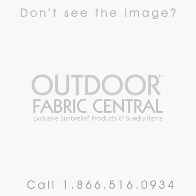 Sunbrella Beaufort Black / White 6 Bar 5704-0000 46-Inch Awning / Marine Fabric