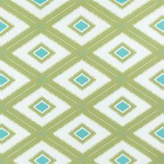 Sunbrella Thibaut Delray Diamond Leaf W80585 Oasis Collection Upholstery Fabric