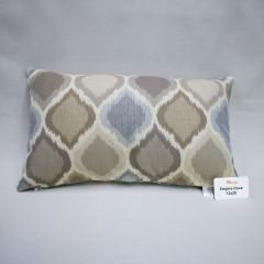 Indoor/Outdoor Sunbrella Empire Dove - 20x12 Throw Pillow (quick ship)