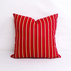 Indoor/Outdoor Sunbrella Harwood Crimson - 20x20 Throw Pillow (quick ship)