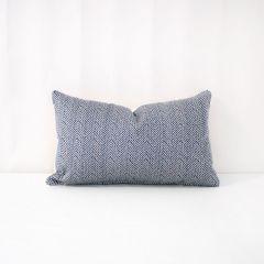 Indoor/Outdoor Sunbrella Posh Sapphire - 20x12 Throw Pillow (quick ship)