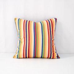 Indoor/Outdoor Sunbrella Castanet Beach 18x18 Throw Pillow (quick ship)